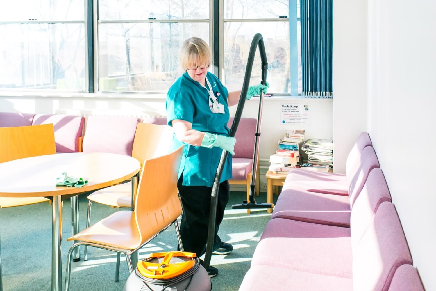 Insourcing cleaning services