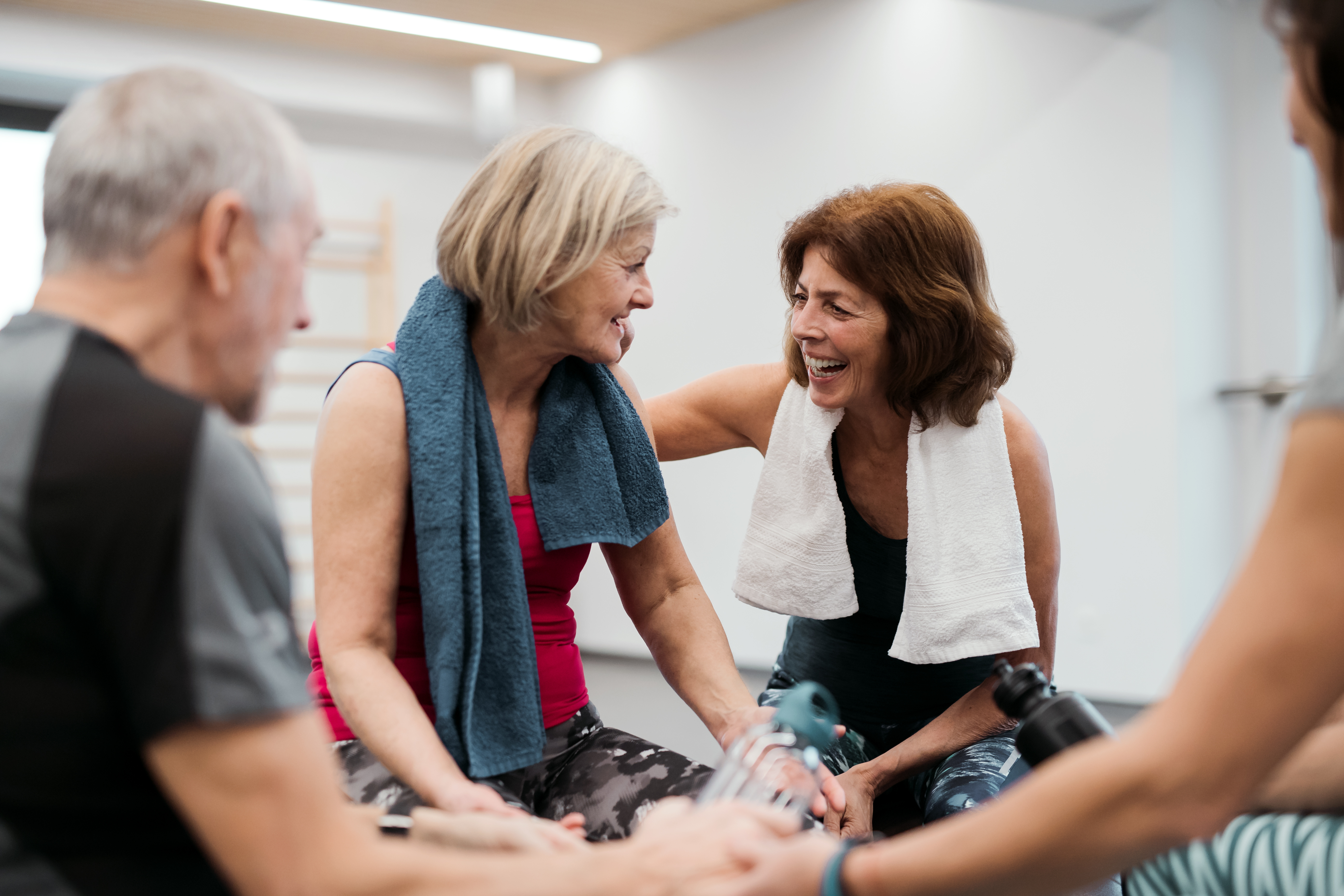 Creating community spaces for patient wellbeing