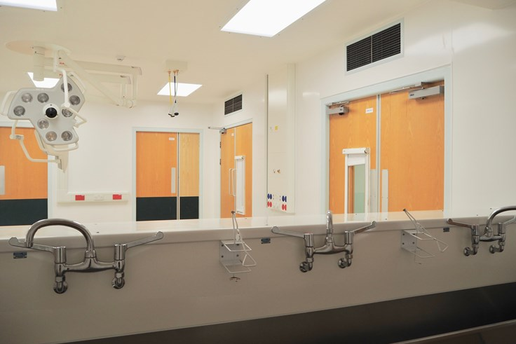 Property gallery image: Crawley Hospital surgery theatres receive £2.6 million upgrade